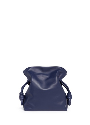 Back View - Click To Enlarge - Loewe - 'Flamenco Knot' small leather tote bag