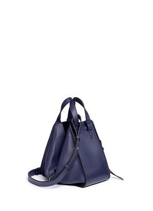Figure View - Click To Enlarge - Loewe - 'Hammock' small leather hobo bag