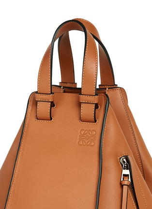 Detail View - Click To Enlarge - Loewe - 'Hammock' small leather hobo bag