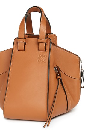 - Loewe - 'Hammock' small leather hobo bag
