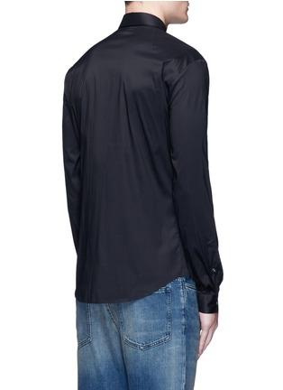 McQ Alexander McQueen-Swallow patch harness cotton shirt