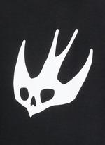 Swallow skull print sweatshirt