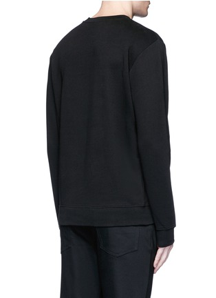 Back View - Click To Enlarge - McQ Alexander McQueen - 'SWALLOW' slogan print sweatshirt