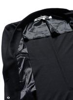 'Curtis' wool piqué soft blazer