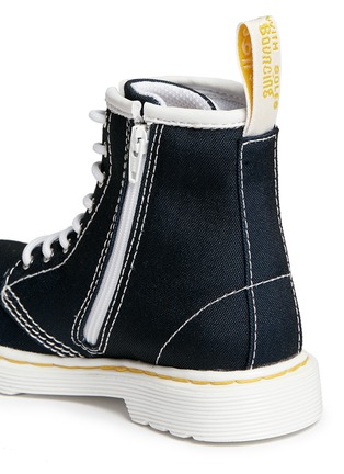 Detail View - Click To Enlarge - Dr. Martens - 'Brooklee' canvas toddler boots