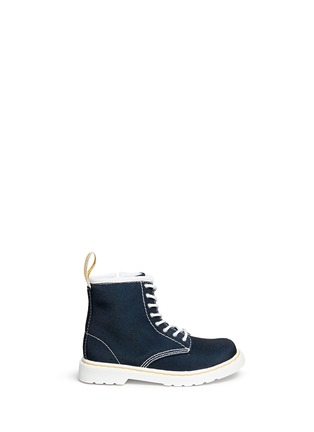 Main View - Click To Enlarge - Dr. Martens - 'Brooklee' canvas toddler boots