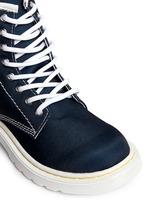 'Delaney' canvas junior boots