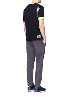 Adidas X Kolor Climachill® jersey T-shirt