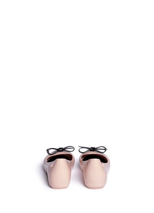 Back View - Click To Enlarge - Melissa - 'Ultragirl Bow' kids flats