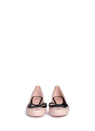Figure View - Click To Enlarge - Melissa - 'Ultragirl Bow' kids flats