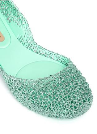 Detail View - Click To Enlarge - Melissa - x Campana 'Papel VII' PVC flats