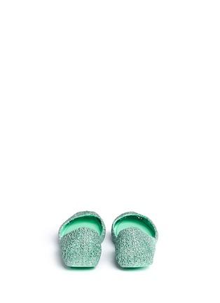 Back View - Click To Enlarge - Melissa - x Campana 'Papel VII' PVC flats