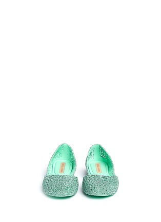 Front View - Click To Enlarge - Melissa - x Campana 'Papel VII' PVC flats