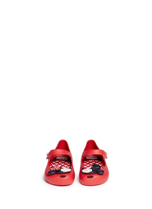 Melissa - 'Ultragirl Disney' Mickey and Minnie toddler Mary Jane flats