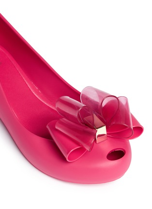 Detail View - Click To Enlarge - Melissa - 'Ultragirl Sweet Ballerina' bow kids flats