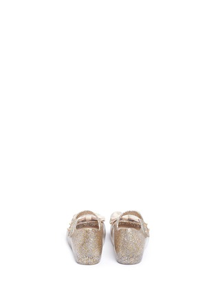 Back View - Click To Enlarge - Melissa - 'Ultra Sweet' bow toddler Mary Jane flats