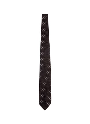 Main View - Click To Enlarge - Drake ' S - Dot stitching silk grenadine tie