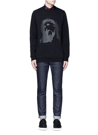 Figure View - Click To Enlarge - Givenchy - Jesus print cotton sweatshirt