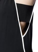 'Luna' contrast seam jumpsuit