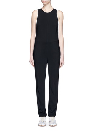 Main View - Click To Enlarge - rag & bone - 'Luna' contrast seam jumpsuit