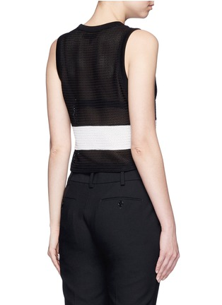 Back View - Click To Enlarge - rag & bone - 'Valerie' colourblock tank top