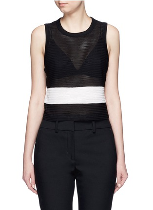 Main View - Click To Enlarge - rag & bone - 'Valerie' colourblock tank top