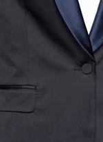 'Brisa' satin shawl lapel tuxedo jacket