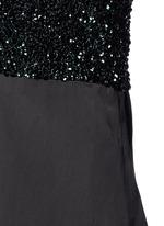 'Dal' sequin embellished sateen cami dress