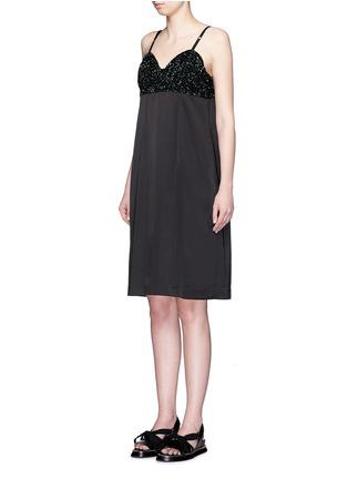 Dries Van Noten-'Dal' sequin embellished sateen cami dress