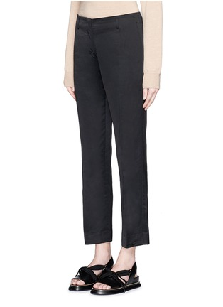 Dries Van Noten - 'Paola' linen-cotton blend pants