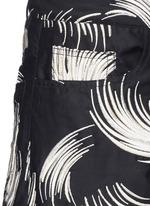 'Picabo' firework jacquard shorts