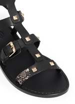 'Morocco' pyramid stud gladiator sandals