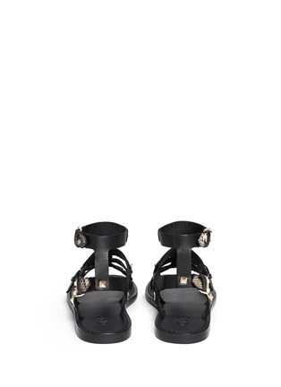Back View - Click To Enlarge - Ash - 'Morocco' pyramid stud gladiator sandals