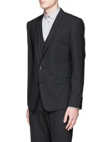 'Gold' slim fit three piece suit