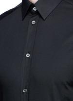 'Gold' stretch poplin shirt