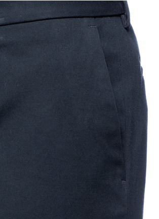 Detail View - Click To Enlarge - Dolce & Gabbana - Rolled cuff chino shorts