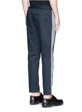 背面 - 点击放大 - DOLCE & GABBANA - 竖纹拼接运动裤