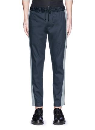 首图 - 点击放大 - DOLCE & GABBANA - 竖纹拼接运动裤