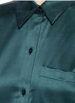 'Daddy' silk shirt