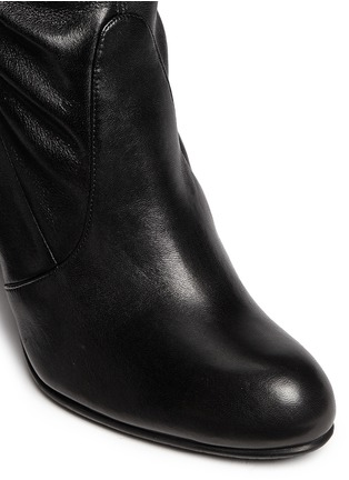 Detail View - Click To Enlarge - Stuart Weitzman - 'Highland' stretch leather thigh high boots