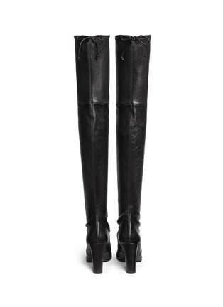 Back View - Click To Enlarge - Stuart Weitzman - 'Highland' stretch leather thigh high boots
