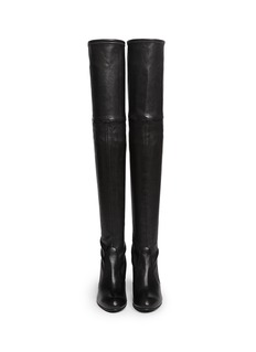 STUART WEITZMAN 'Highland' stretch leather thigh high boots