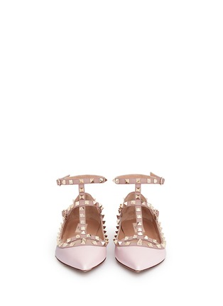 Figure View - Click To Enlarge - Valentino - 'Rockstud' caged leather flats