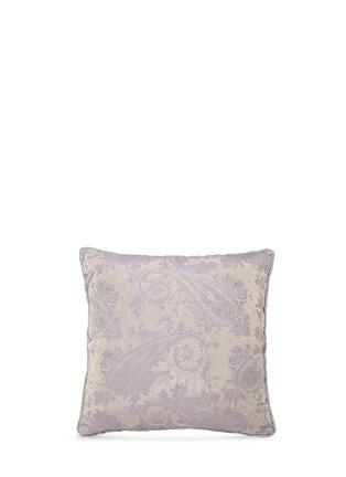 Main View - Click To Enlarge - Etro - Montrose Talmine paisley jacquard satin cushion