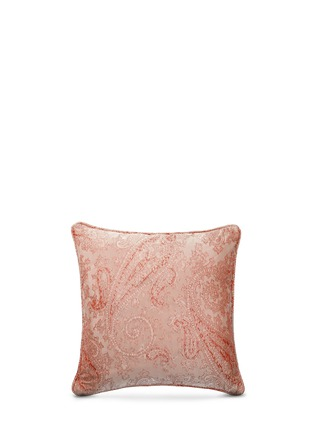 Back View - Click To Enlarge - Etro - Montrose Talmine paisley jacquard satin cushion