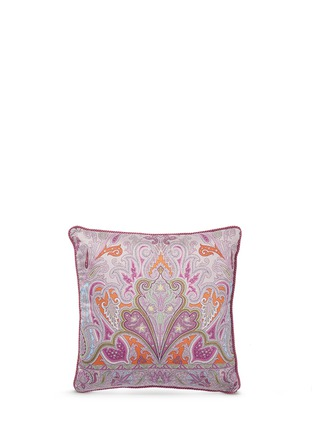 Main View - Click To Enlarge - Etro - Morlaix Rohan paisley print sateen cushion