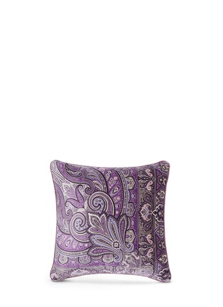 Main View - Click To Enlarge - Etro - Morlaix Quintin paisley print velvet cushion