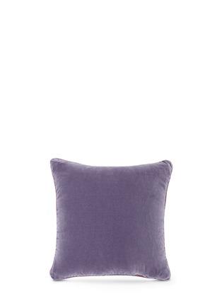 - Etro - Morlaix Quintin paisley print velvet cushion