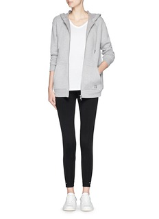 T BY ALEXANDER WANG Logo band luxe ponte leggings