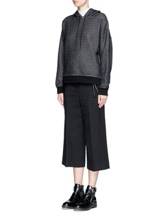 T BY ALEXANDER WANG French terry hoodie